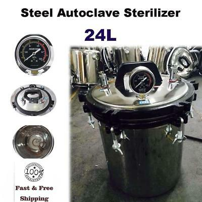 24L Automatic Pasteurizer Stainless Steel Pressure Sterilizer - Factory Direct