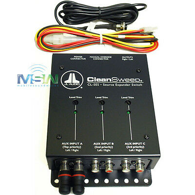 *NEW* JL AUDIO® CL-SES SOURCE EXPANDER SWITCH for CleanSweep CL441DSP CLSES