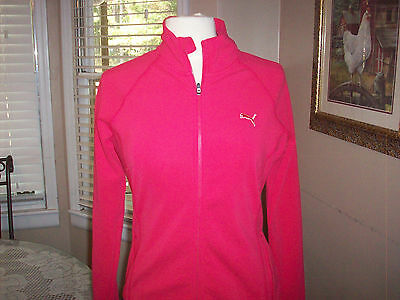 Womens Puma dry cell track jacket  jacket Sz S small Free beanie NEW WITH TAGS