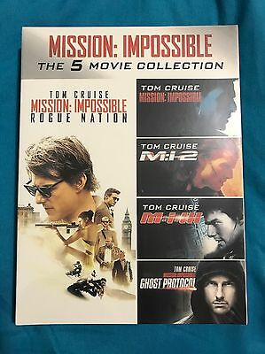 Mission: Impossible The 5 movie collection (DVD)