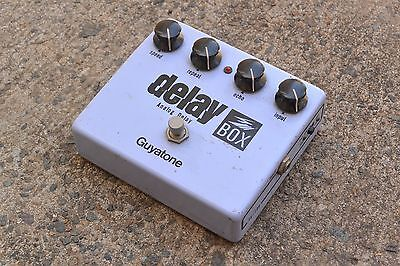 1980's Guyatone PS-109 Delay Box Vintage MN3005 MIJ Japan Effects Pedal w/Box
