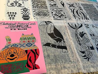 Fair Isle Patterns Cards Nos. 101 thru 110 Excellent Condition **Free Shipping**