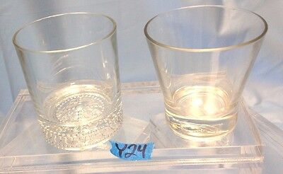 Lot of 2 Crown Royal Whiskey Glasses Y24