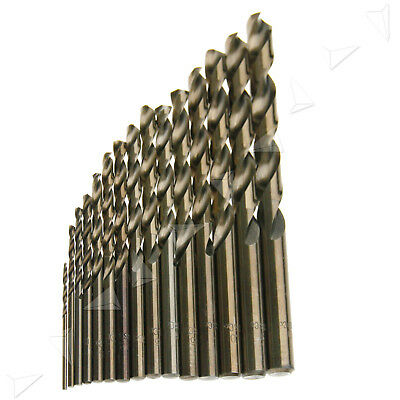 New 15PCS HSS-Co High Speed Steel 5% M35 Cobalt Drill Bit 1.5-10MM