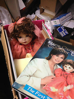 Marie Osmond Remember Me 10th Anniversary Porcelain Doll, in Box with Book
