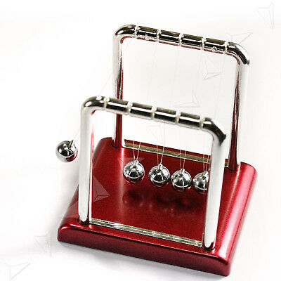New Xmas Gift Classic Desk Newtons Cradle Balance Ball w/Box