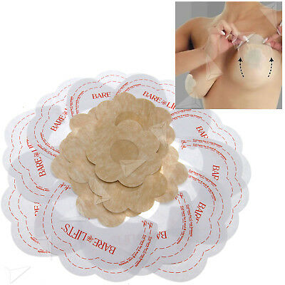 New 20pcs Breast Lifts Invisible Bra Breast Lifts Tapes Nipple Covers