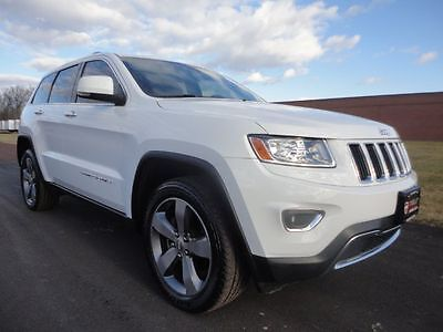 2014 Jeep Grand Cherokee Limited 2014 JEEP GRAND CHEROKEE LIMITED V6 LOADED 1 OWNER WE FINANCE CLEAN CARFAX 4X4 !