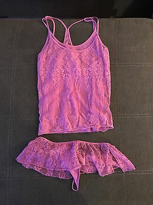 victoria secret cami set-pink-small- Valentine's Day Gift