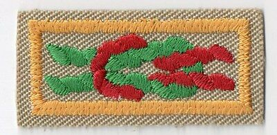 Arrow Of Light Award 1983-Current Square Knot Scout Stuff Flat Back 700955