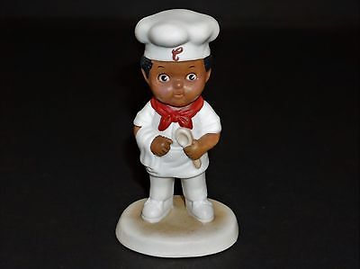 1993 Campbell'S Soup Kids Boy Chef Bisque Porcelain Collectible Figure/figurine