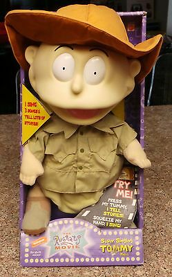 Vintage 1998 Super Singing Tommy from The Rugrats Movie