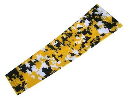 Digital camo arm sleeve Baseball Basketball Sports Compression Adult Small