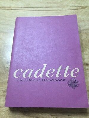 CADETTE Girl Scout Guide Handbook 1963 First Impression