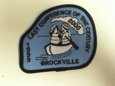 Boy Scouts Canada 1999 Last Conference of the Century (Brockville Region) Patch