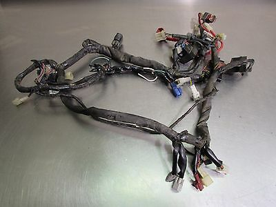 02 03 Yamaha Yzf R1 Main Engine Motor Wiring Harness *has Cuts For Parts* Oem