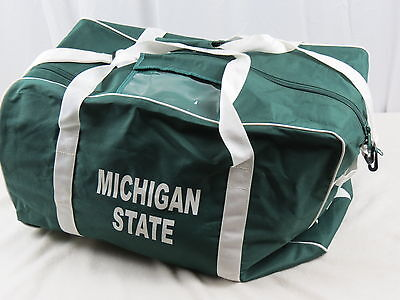 4orte Michigan State Spartans NCAA Pro Stock Team Player Coach Duffle Bag Travel