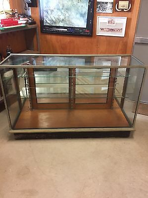 Antique Shop Counter Display Cabinet