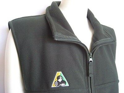 NEW! Polo Fleece Vest, Bottle Green - HALF PRICE CLEARANCE