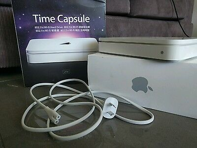 Apple MD032X/A 2 TB External Hard Drive Time Capsule