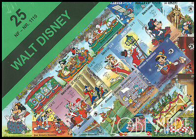 Disney Stamp Packet. 25 Different. Mint Condition