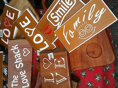 Timber Sign handcrafted personalised made to order