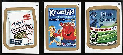 2015 Topps Wacky Packages Series 1 GOLD Parallel #43 - Haunted Bonettes