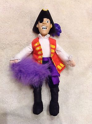 The Wiggles Talking Doll plush Captain FeatherSword Singing Works Spin Master
