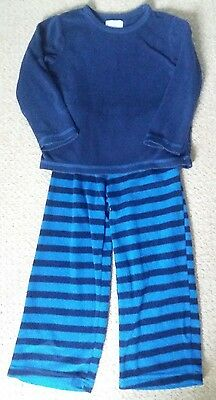 ����Boys thick fleecy blue pyjamas 3-4years EXCELLENT����