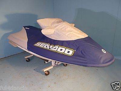SEA DOO GTX GTS GT GTI Cover Navy & Gray with Blemish New Out Of Box OEM