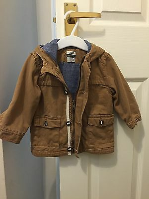 Mamas And Papas Coat Boys 6-9 Months