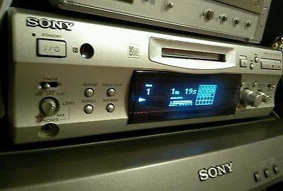 Sony MDS-S707 MiniDisc Deck Player/Recorder/Remote