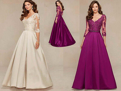 New Long Bridesmaid Wedding Party Cocktail Formal Prom Dresses Evening Ball Gown
