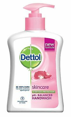 Dettol Liquid Soap Pump 215 ml Skincare Protect Transference Of Germs