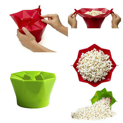 Microwave Silicone Magic Household Popcorn Maker Container Healthy Cooking Tools