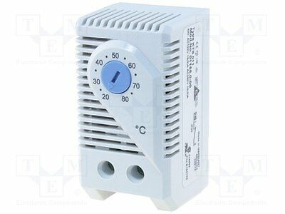 1 pc Sensor: thermostat; Contacts: NO; 10A; 250VAC; IP20; Mounting: DIN