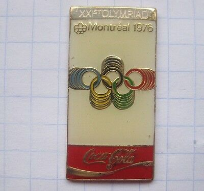 COCA-COLA /  OLYMPISCHE SOMMER SPIELE / MONTREAL 1976   .... Sport Pin (127e)