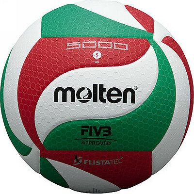 New Genuine Molten V5M5000 Official Size 5 Volleyball FIVB Approved