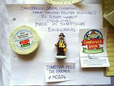 camberwick green miniature pewter figurine Jonathan Bell the farmer collectable.
