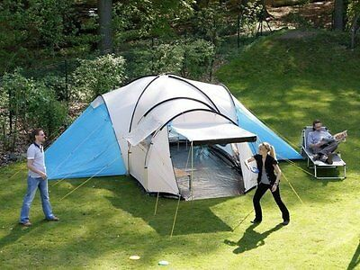 skandika Toronto 8 Person/Man Family Dome Camping Tent Large Group Canopy New