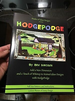 Shades Of Glass Design Presents - HODGEPODGE - Stained Glass Designs - Full Size