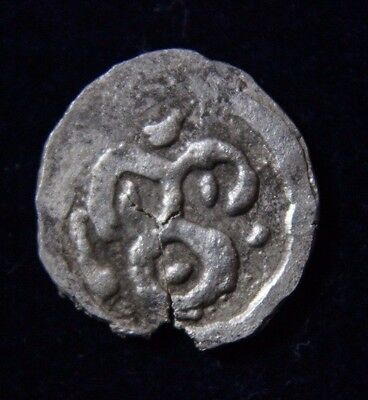 MEROVINGIAN COINS-MINT indeterminate Silver Coin 8th century AD