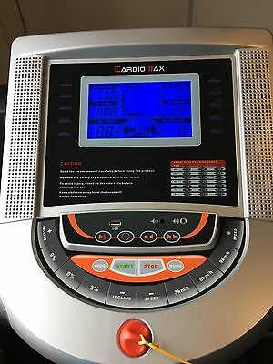 Cardio Max Motorised Treadmill - XFIT T-50 - Excellent Condition