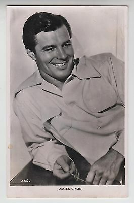POSTCARD - James Craig, movie star, film cinema actor #215