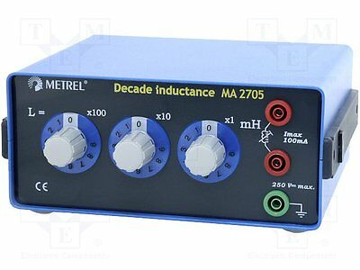 1 pc Decade box: inductance; 0÷999mH; Number of ranges:3