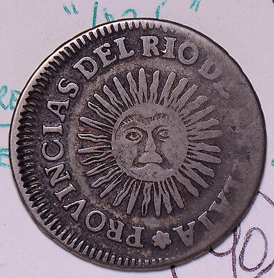 A0069 Argentina 1825  2 Soles  combine shipping