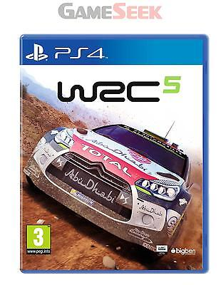 Wrc 5 - Playstation Ps4 Brand New Free Delivery