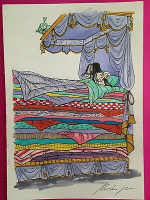 the princess and the pea artwork