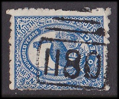 New South Wales : Postmark Numeral 1180 of Rocky Hall (RRR).