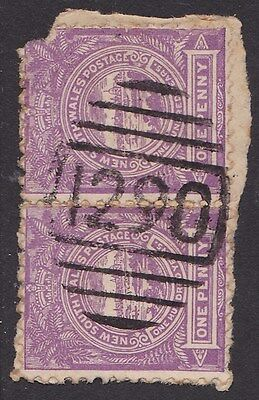 New South Wales Postmark : Numeral 1290 of Otford (RRR) .